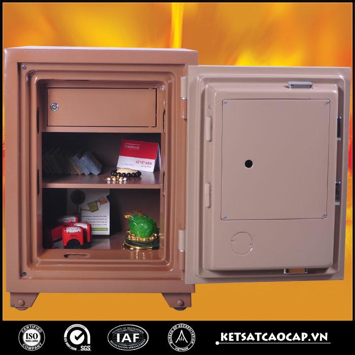 đặc điểm sản phẩm Két sắt an toàn KS140 E Đồng