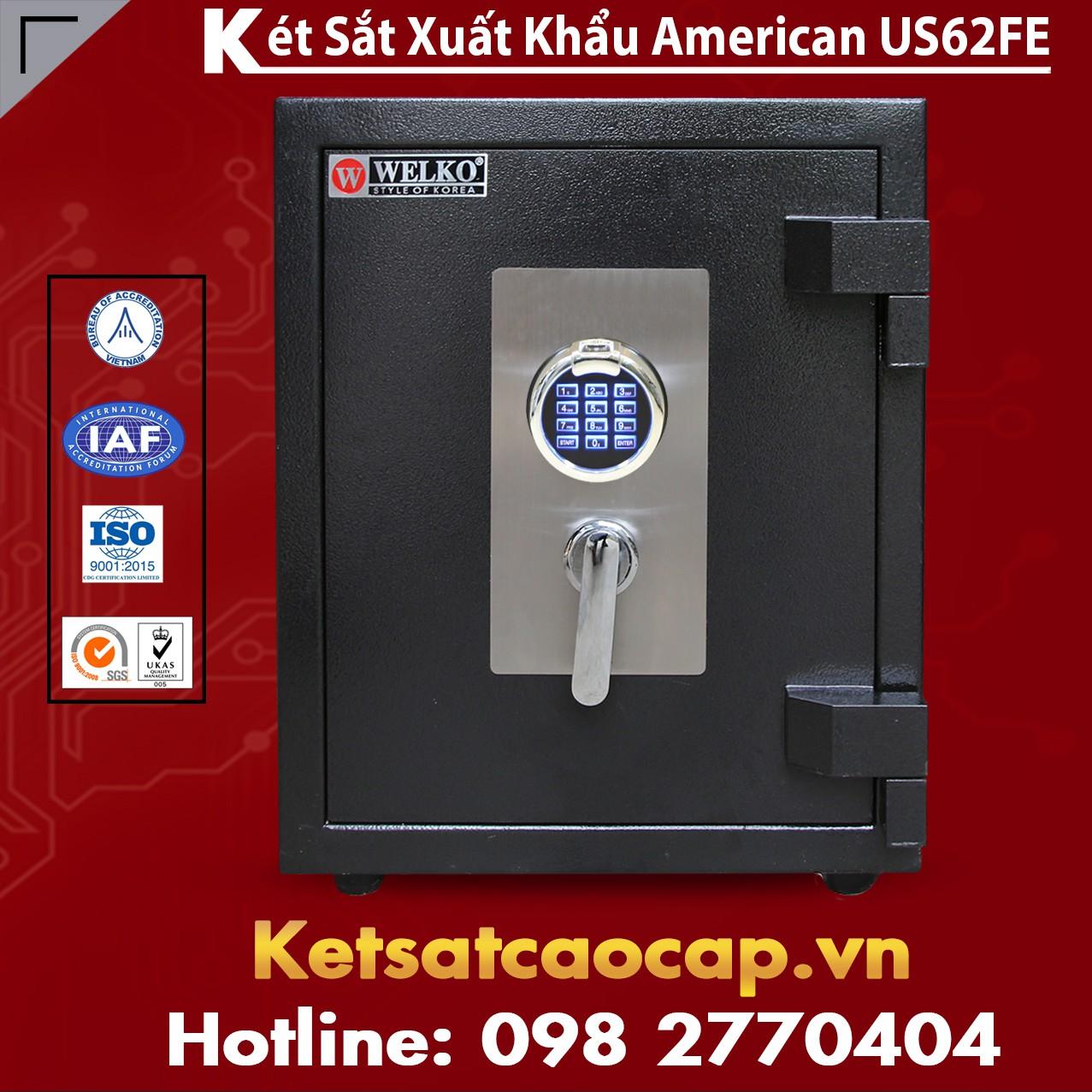 cửa hàng bán két sắt xuất khẩu US52 cao cấp ở Quốc Oai