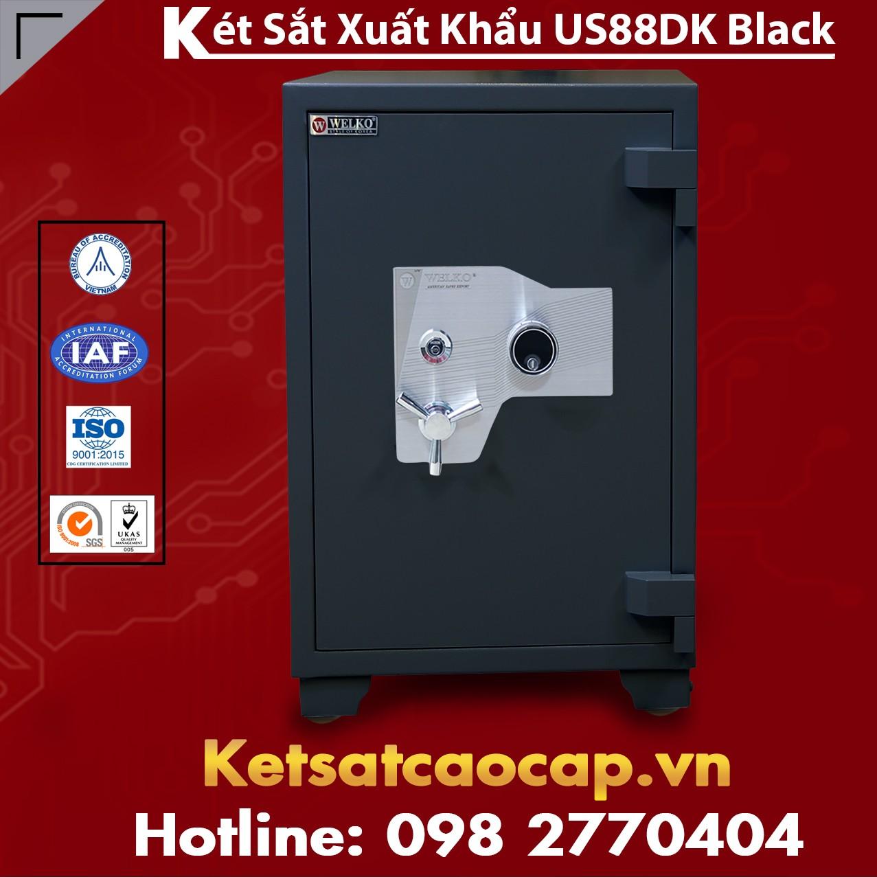 Két Sắt Xuất Khẩu WELKO US88 DK Black