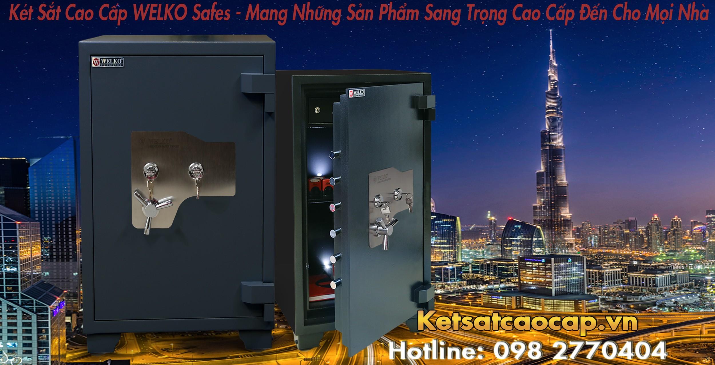 hình ảnh sản phẩm Két Sắt Xuất Khẩu US88 KEY Black Sản Xuất Theo Dây Chuyền CN Hàn Quốc