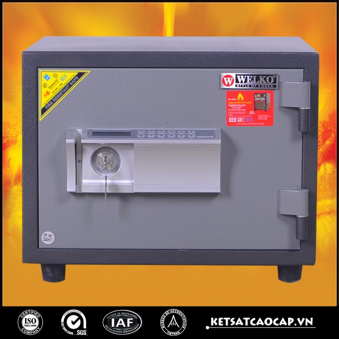 Két sắt chống cháy W80 điện tử
