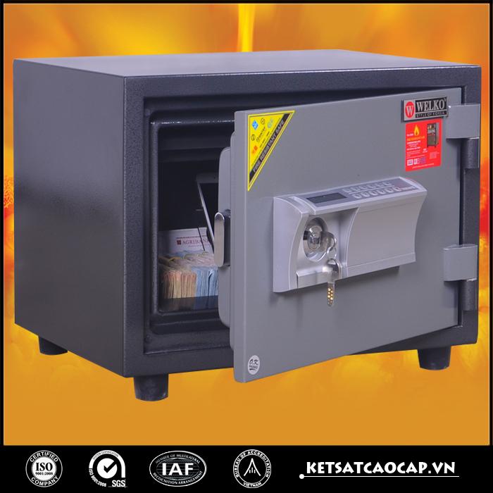 đặc điểm sản phẩm Két sắt chống cháy W80 điện tử
