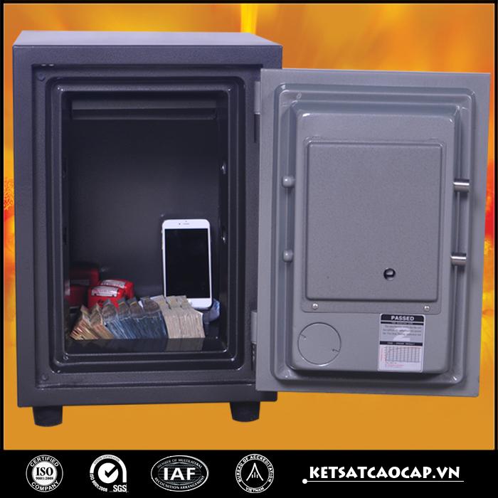 hình ảnh sản phẩm Két Bạc chống cháy W80D a điện tử