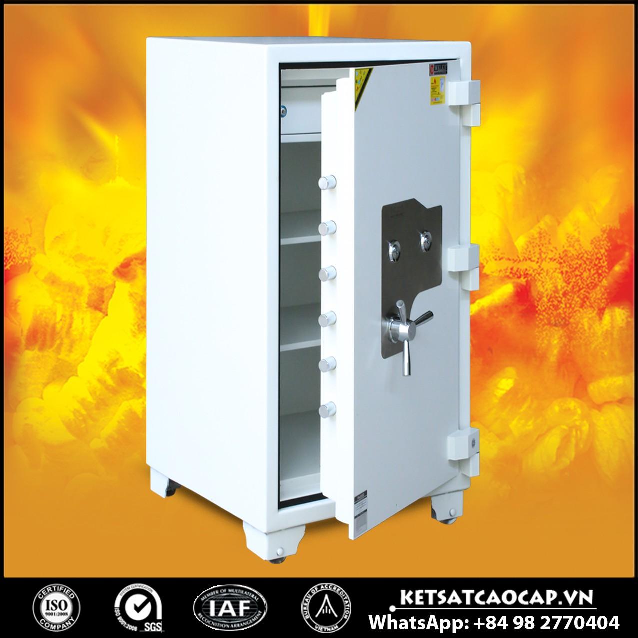 Két Sắt Mini Safes NSA 1080 KEY White