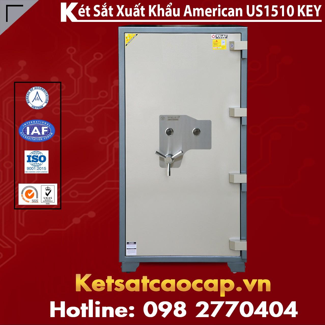 Két Sắt Mini Safes WELKO US1510 KEY