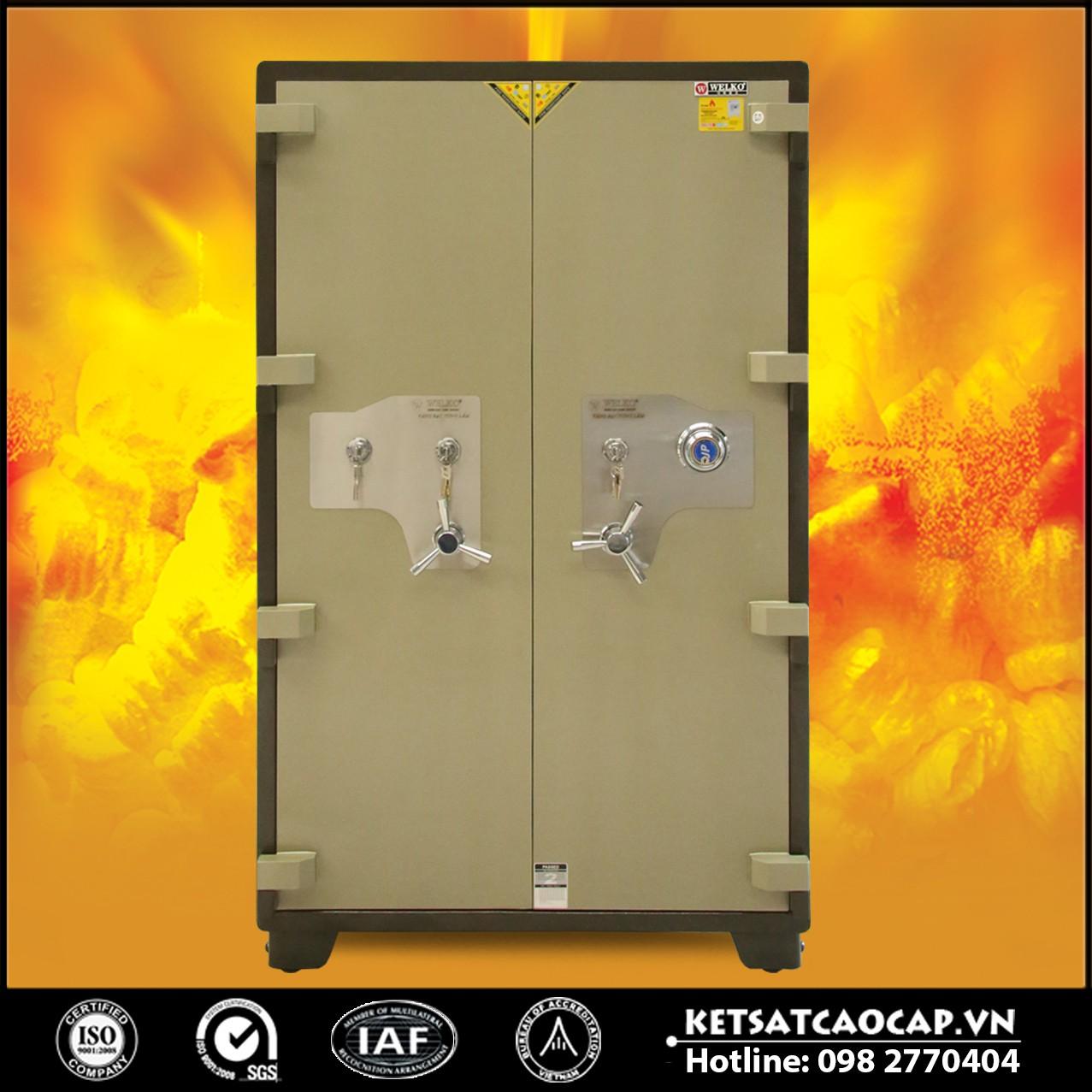 Két Sắt Xuất Khẩu Cao Cấp Két Sắt Tiệm Vàng NSA 1650 DK