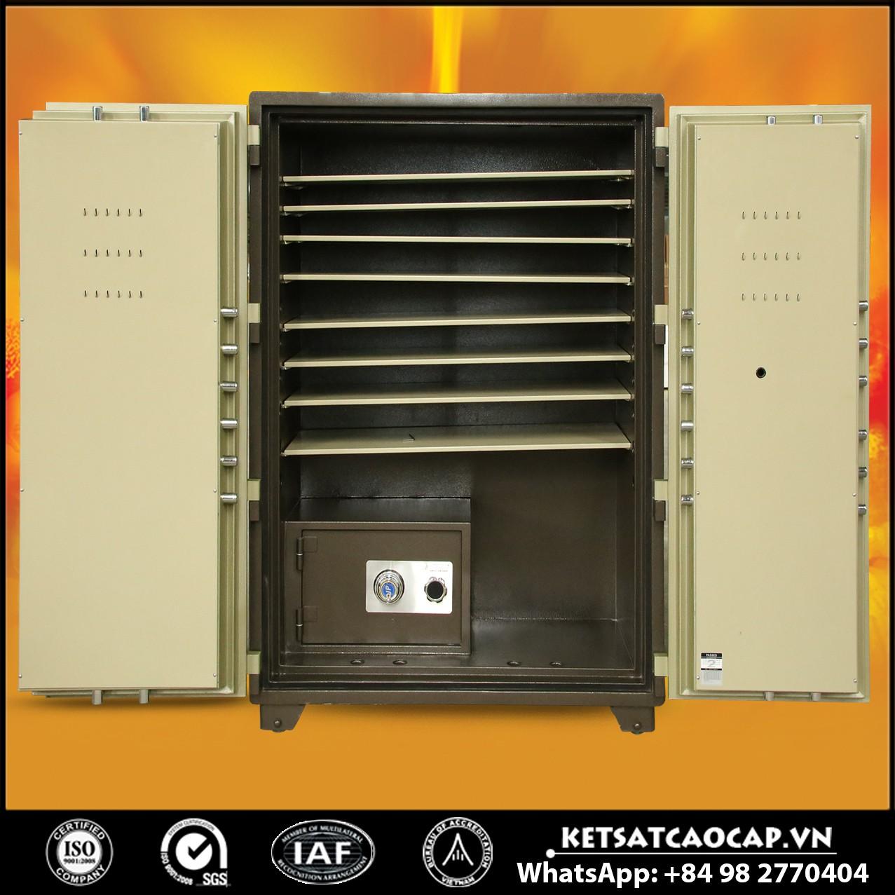 Két Sắt Mini Safes Két Sắt Tiệm Vàng NSA 1650 KEY Pro