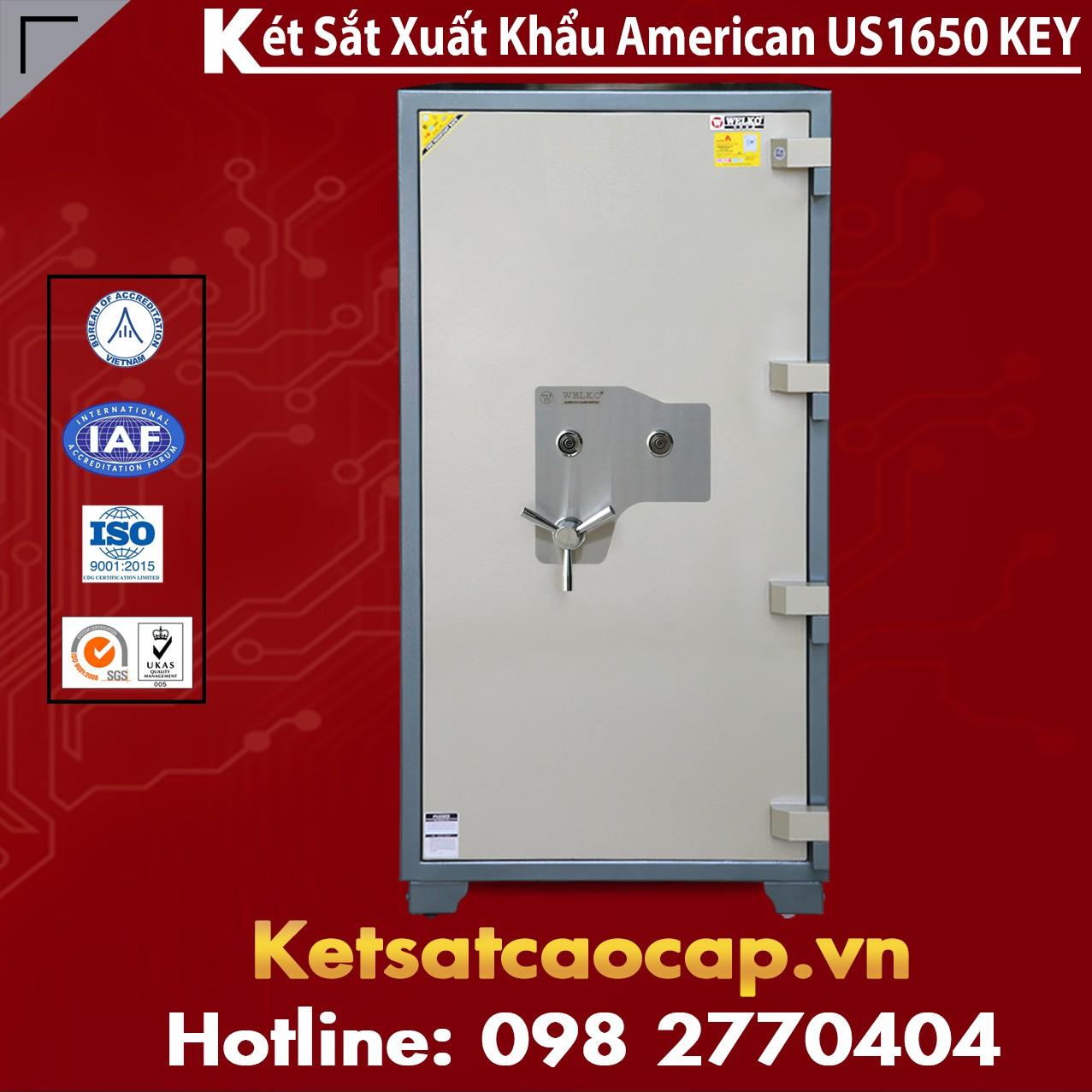 Két Sắt Mini Safes WELKO US1650 KEY