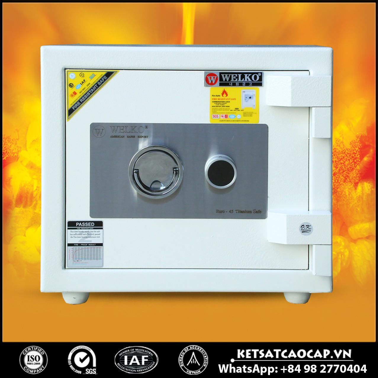 Két Sắt Mini Safes NSA 440 KEY White