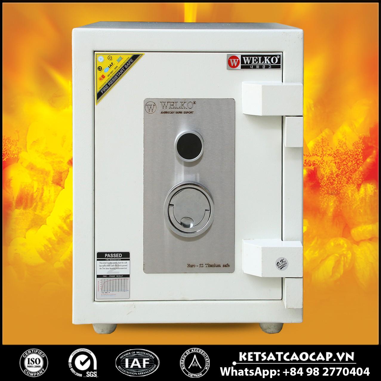 Két Sắt Mini Safes NSA 520 KEY White