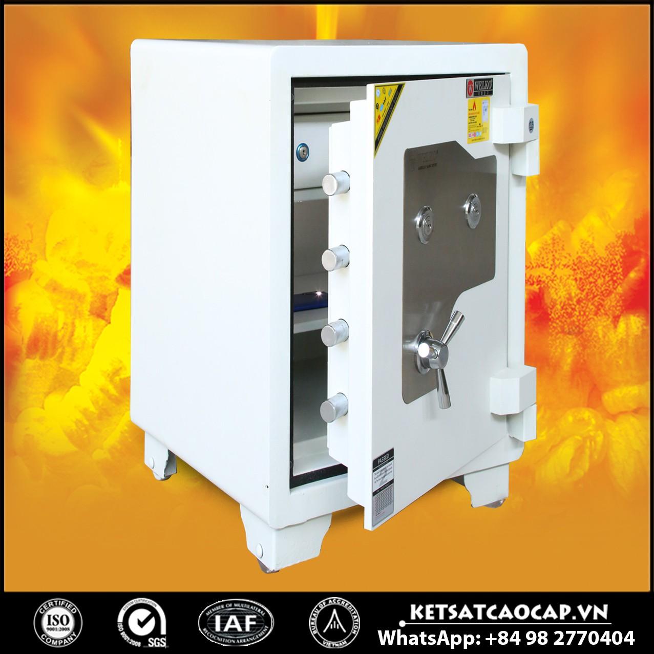 Két Sắt Mini Safes NSA 680 KEY White
