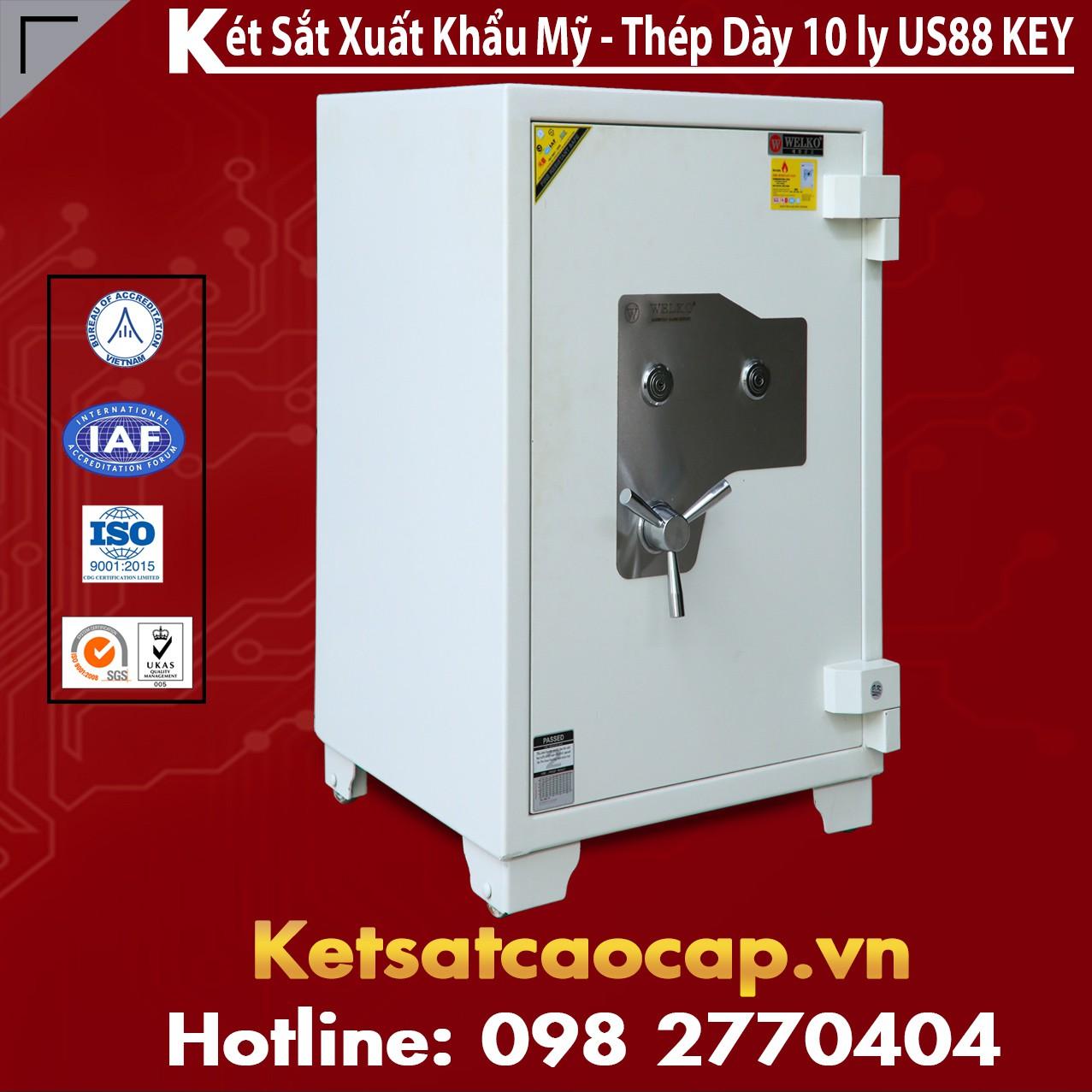 Két Sắt Mini Safes NSA 880 KEY White