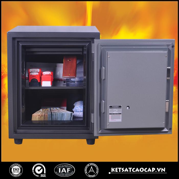 đặc điểm sản phẩm Két Bạc chống cháy KCC 56 điện tử