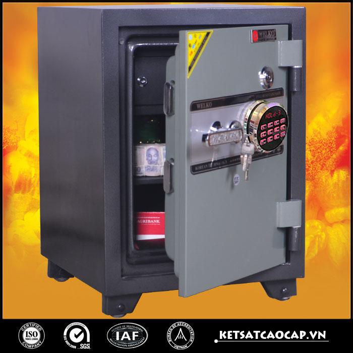 đặc điểm sản phẩm két sắt điện tử KS 125 E Đen