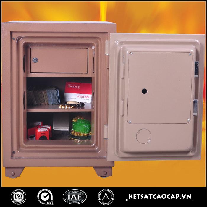 đặc điểm sản phẩm két sắt điện tử KS 125 E Đồng