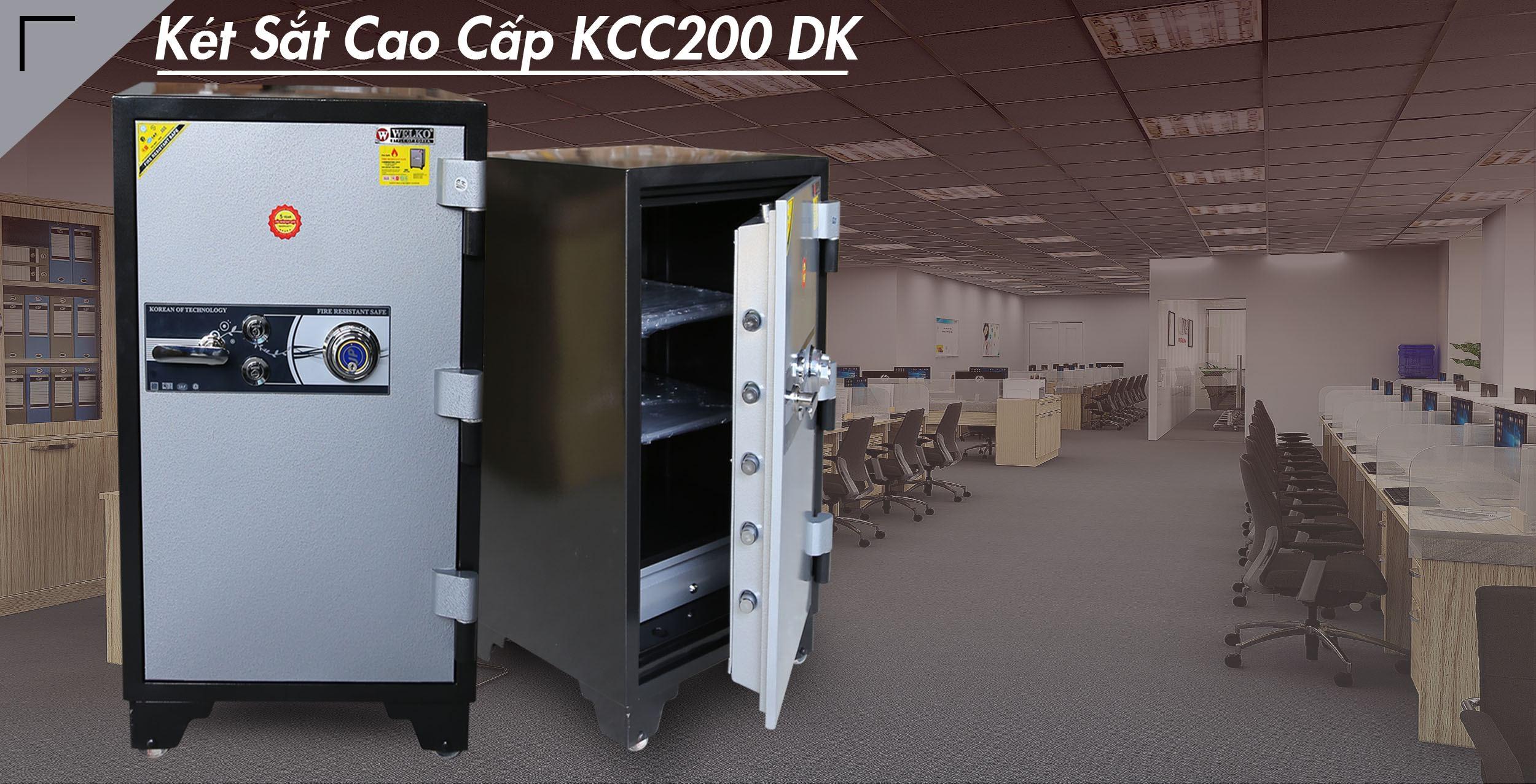 két sắt gia đình xuất khẩu KCC200