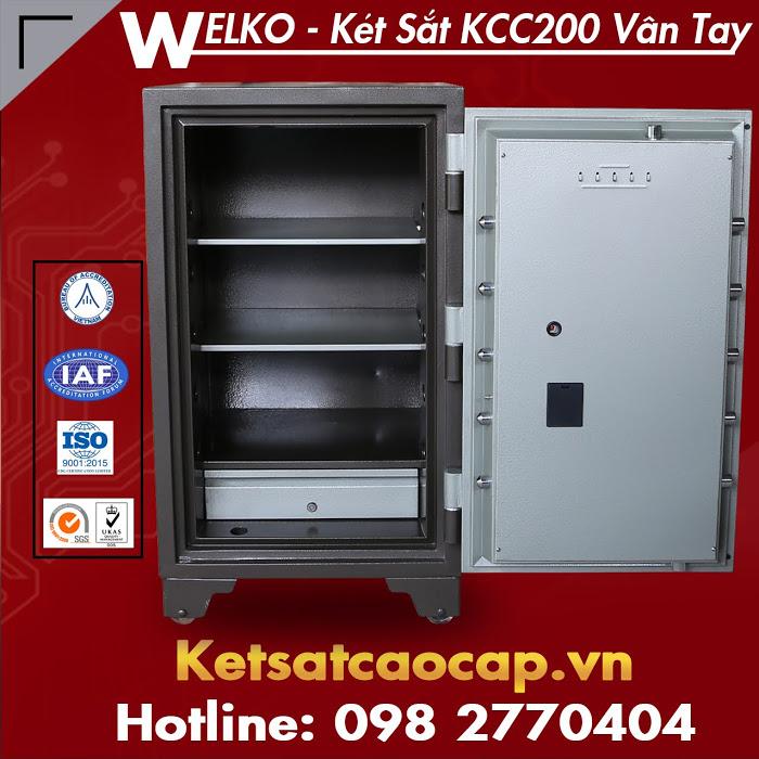Két Sắt Vân Tay WELKO Fire Resistant Safes Sản phẩm ưu việt giúp bảo vệ tài sản tối đa