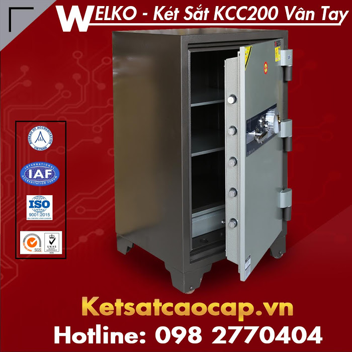 bang gia ket sat am tuong WELKO Fire Resistant Safes