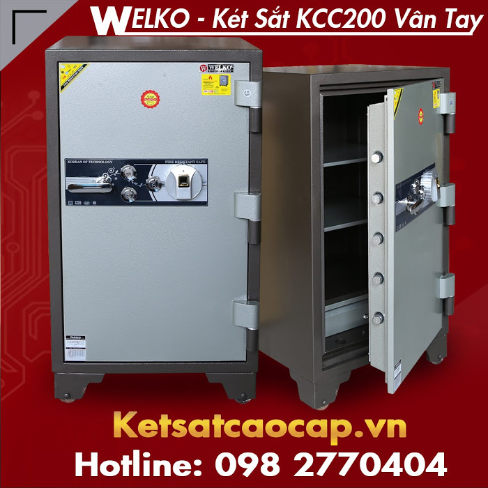 cua hang ban ket sat chinh hang WELKO Fire Resistant Safes tai ha noi