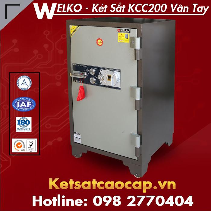 Két Sắt Vân Tay Hàn Quốc KCC200 Fire Resistant Safes