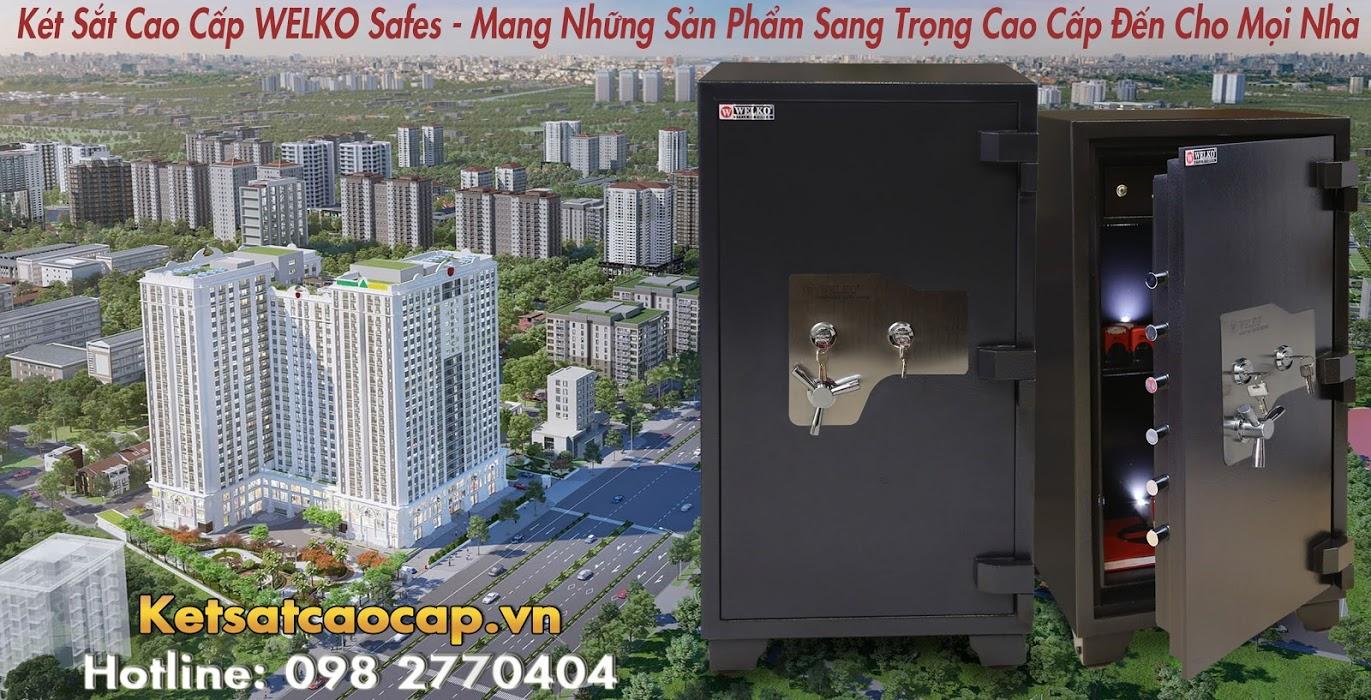 hình ảnh sản phẩm Két Sắt Chống Trộm Tiền Thủ Quỹ Welko Fire Resistant safes