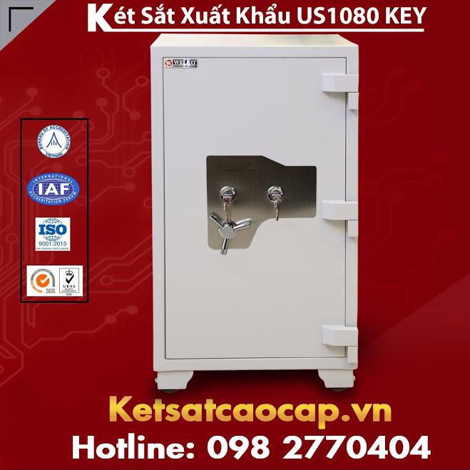 Két Sắt Chống Trộm Đột Nhập Khiêng Két Sắt US1080 KEY Office Safe Box