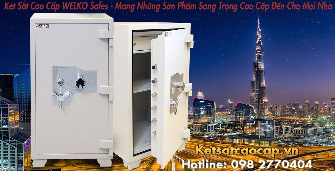 hình ảnh sản phẩm Két Sắt Điện Tử WELKO Fire Resistant Safes