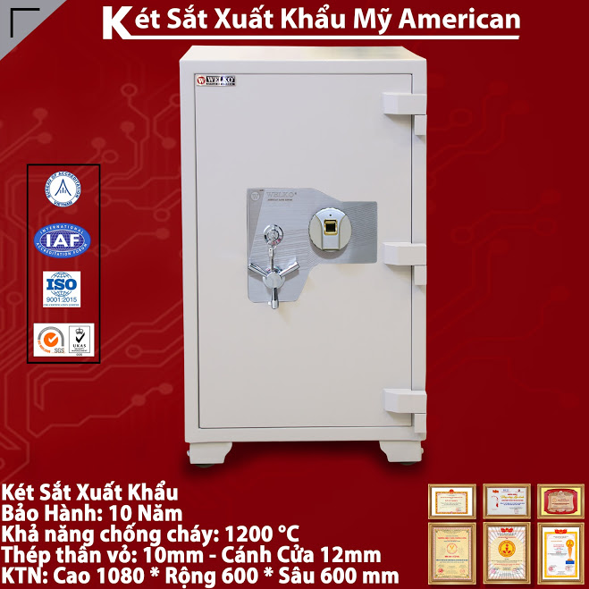 mua ket sat han quoc WELKO Fire Resistant Safes tai can tho