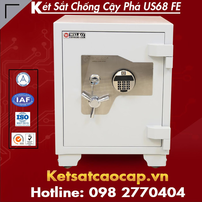 dai ly ket sat xuat khau WELKO Fire Resistant Safes chinh hang