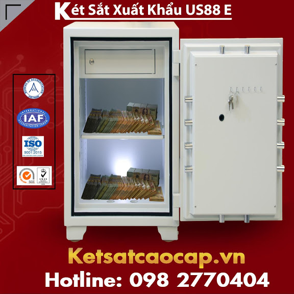 Két Sắt Tỷ Phú Giàu Nhất Việt Nam Hay Sử Dụng US88 E Fireproof Safes