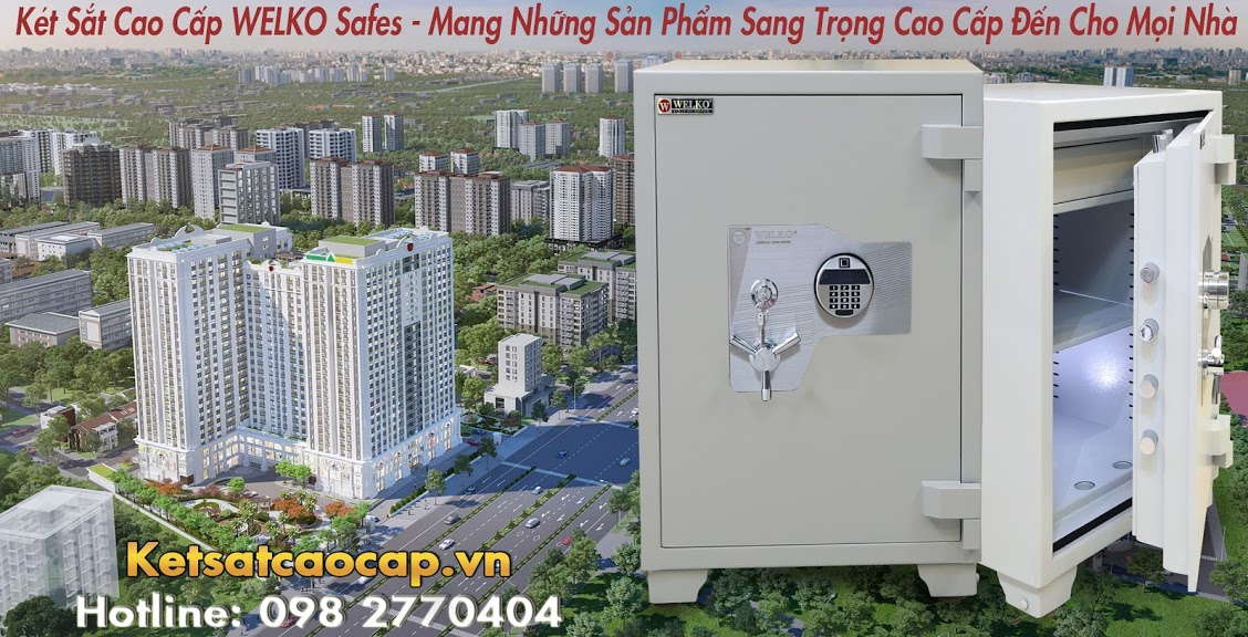 hình ảnh sản phẩm Két Sắt Đại Gia US88 FE WELKO Fireproof Safes Đảm Bảo An Toàn Tài Sản