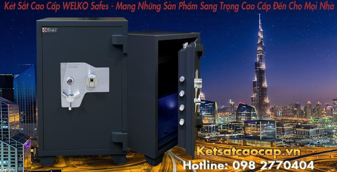 hình ảnh sản phẩm Két Sắt Xuất Khẩu US88 F Black Két Sắt Tốt Nhất Sản Xuất Tại Việt Nam