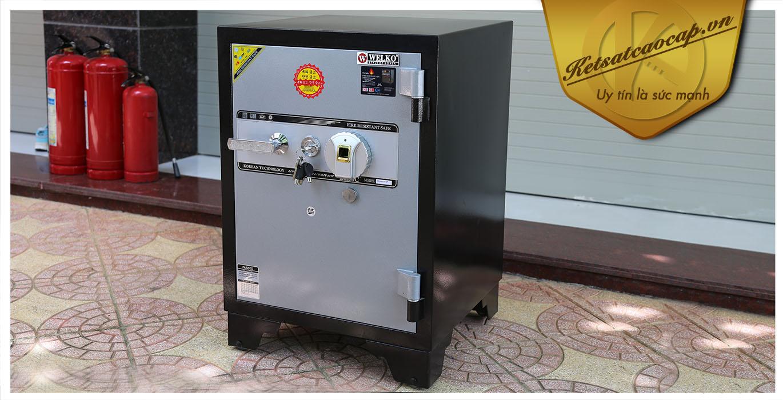 hình ảnh sản phẩm Két sắt văn phòng KS160B-Series Fingerprint