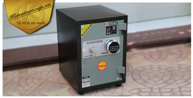hình ảnh sản phẩm Két sắt văn phòng KS80DB-Series E Korea