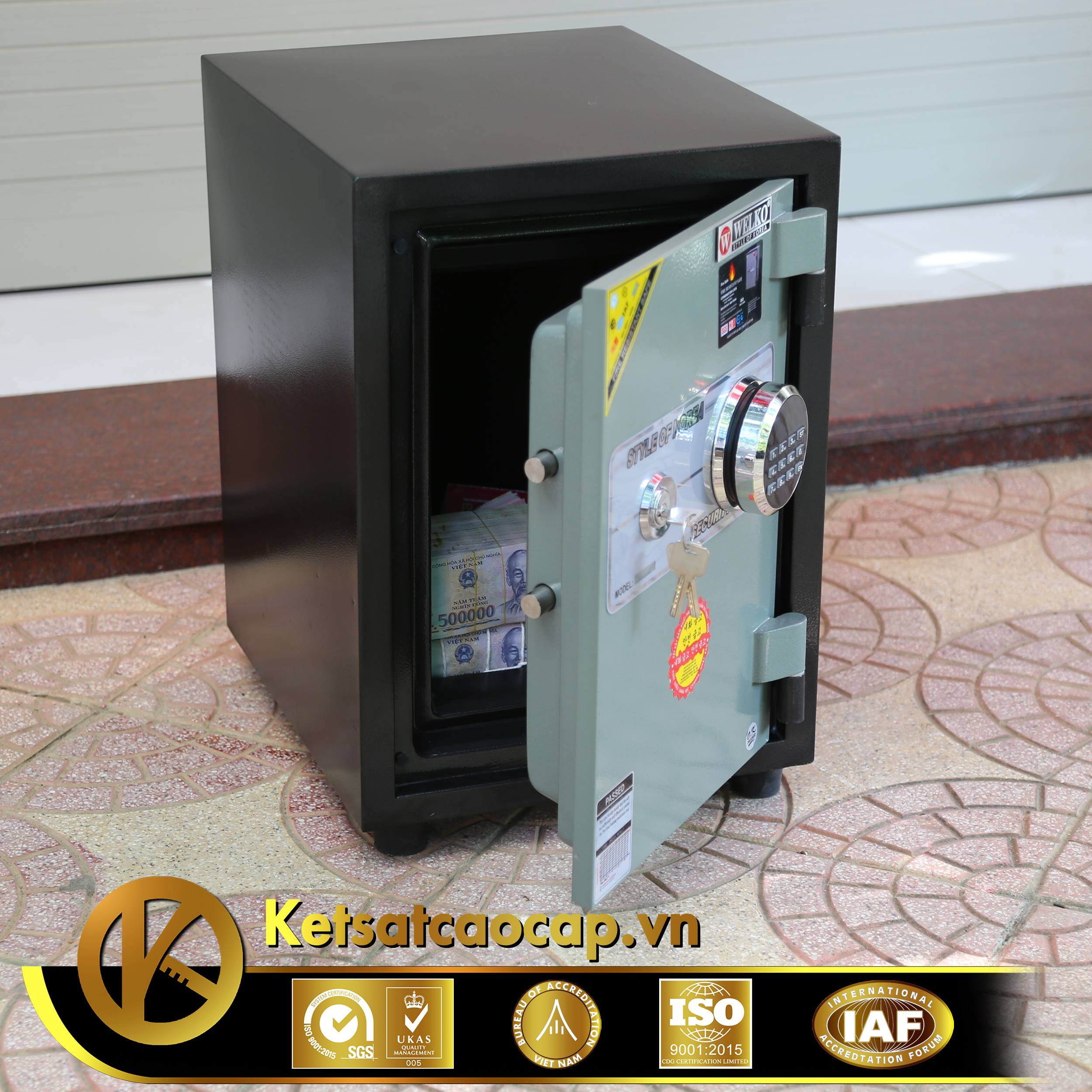 Két sắt văn phòng KS80DB-Series E Korea