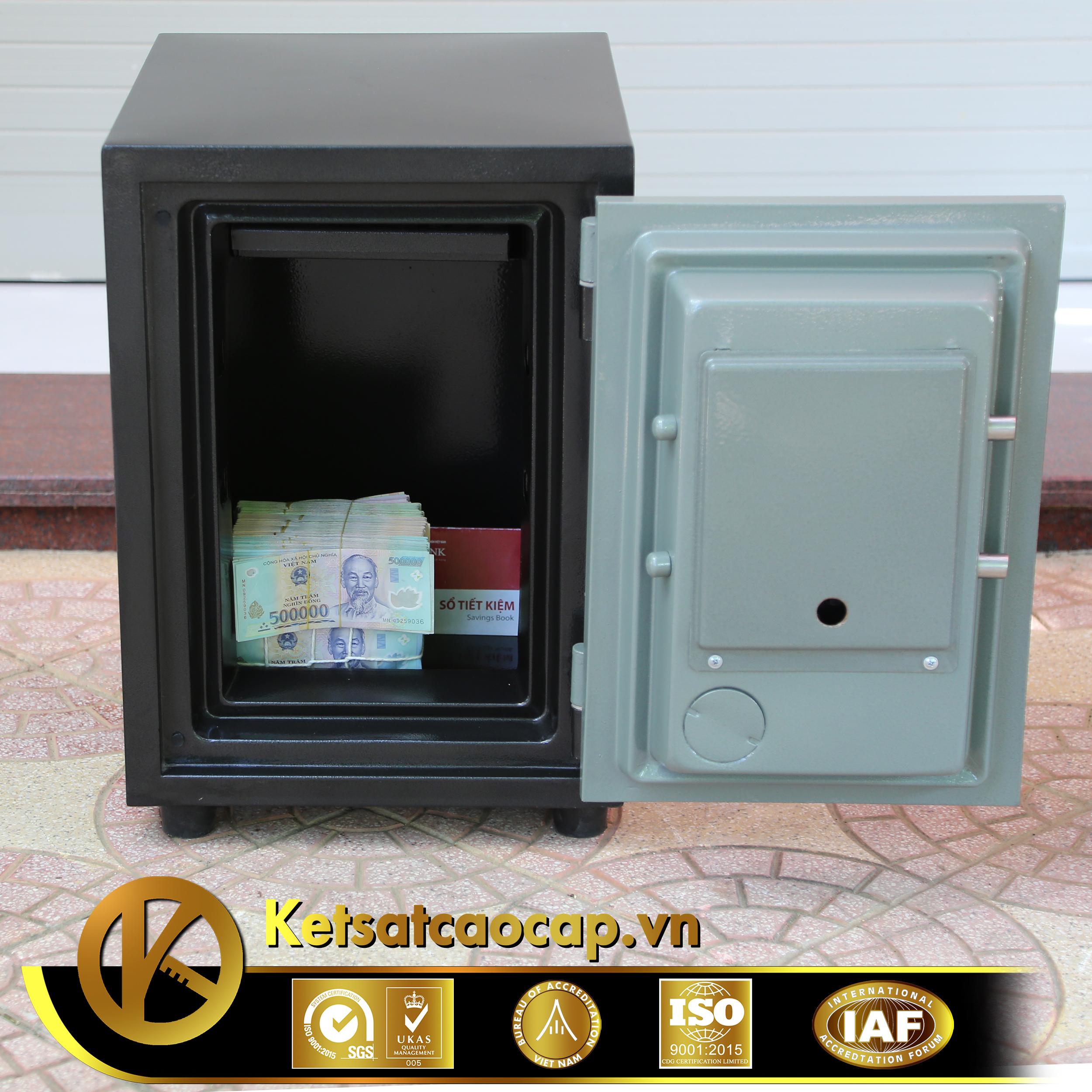 đặc điểm sản phẩm Két sắt văn phòng KS80DB-Series E Korea