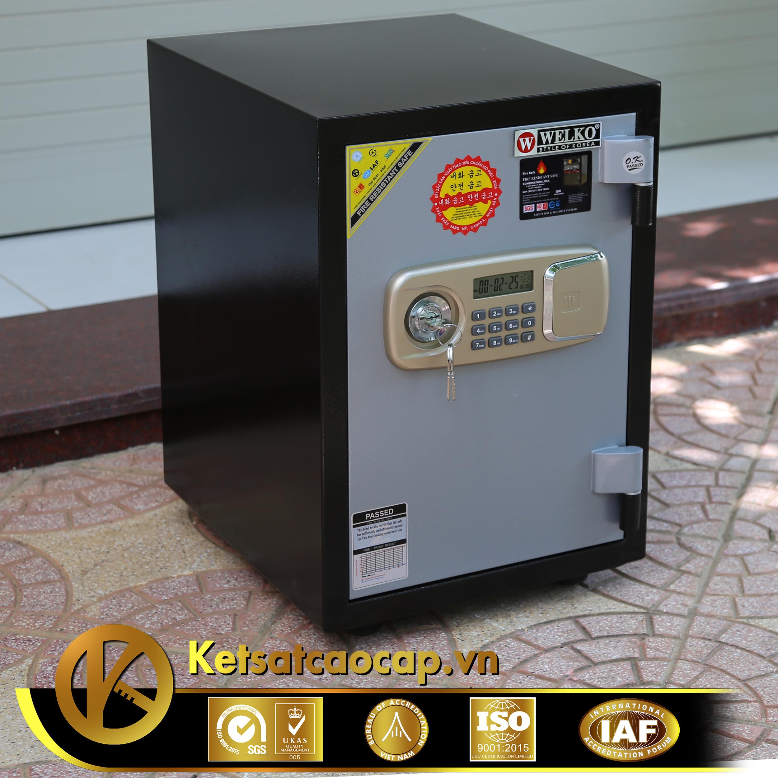 đặc điểm sản phẩm Két sắt văn phòng KS80DB-Sereis E Việt Nam