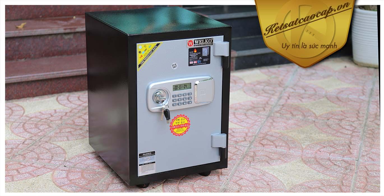 hình ảnh sản phẩm Két Sắt Hàn Quốc KS 80D - Led Dài