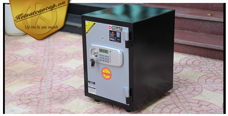 hình ảnh sản phẩm Két sắt văn phòng KS80DB-Series E SILVER VIETNAM