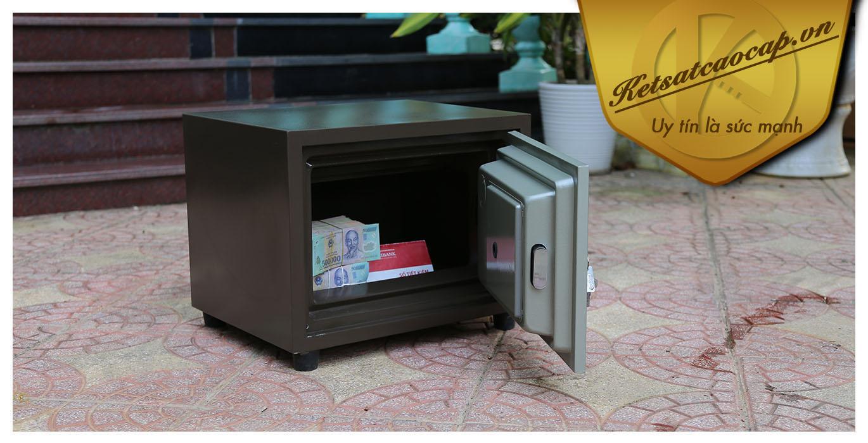 hình ảnh sản phẩm Két sắt văn phòng KS80N Brown-Series C ThaiLan
