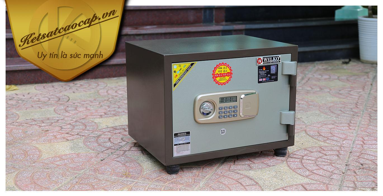 hình ảnh sản phẩm Két sắt văn phòng KS80N Brown-Series E Vietnam
