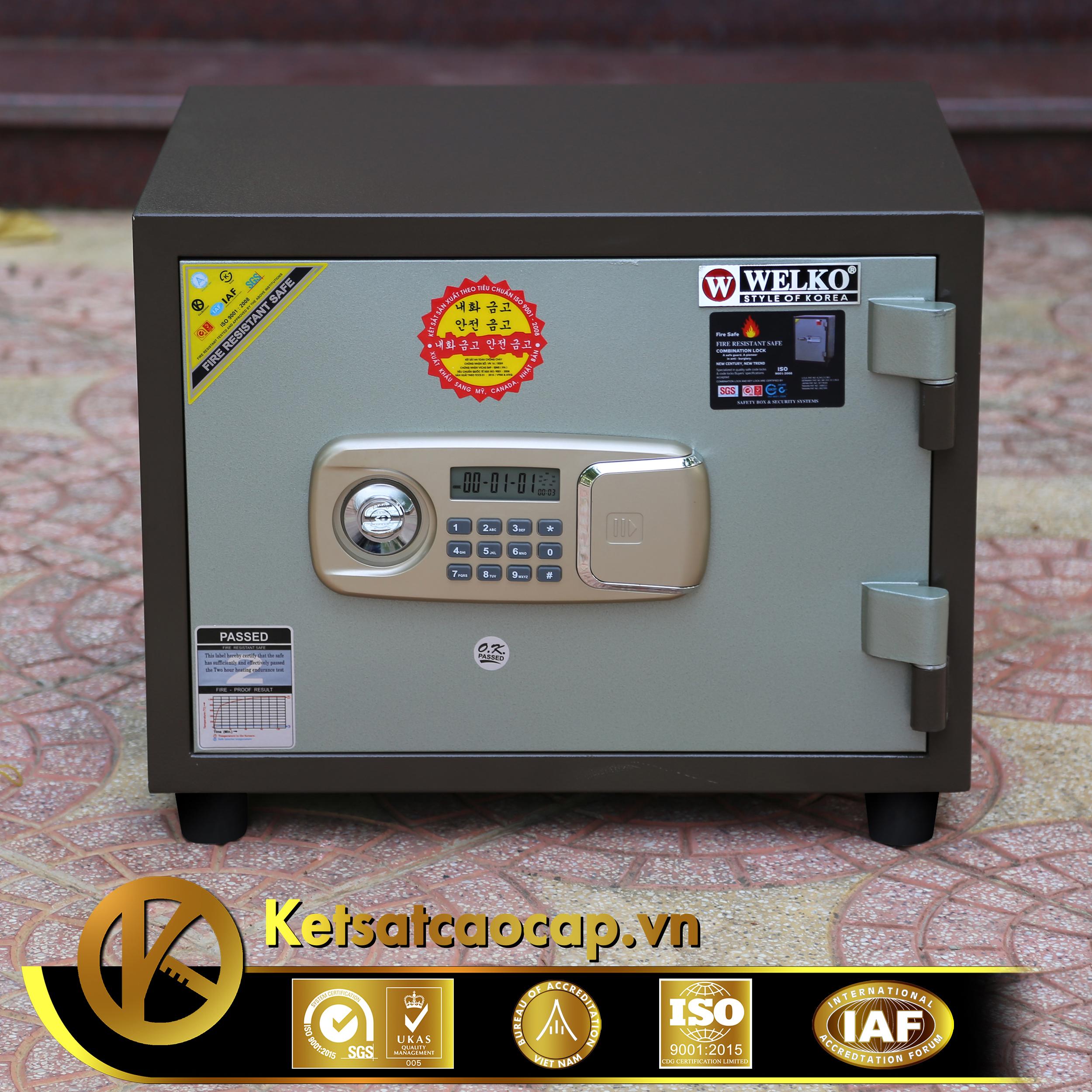 Két sắt văn phòng KS80N Brown-Series E Vietnam