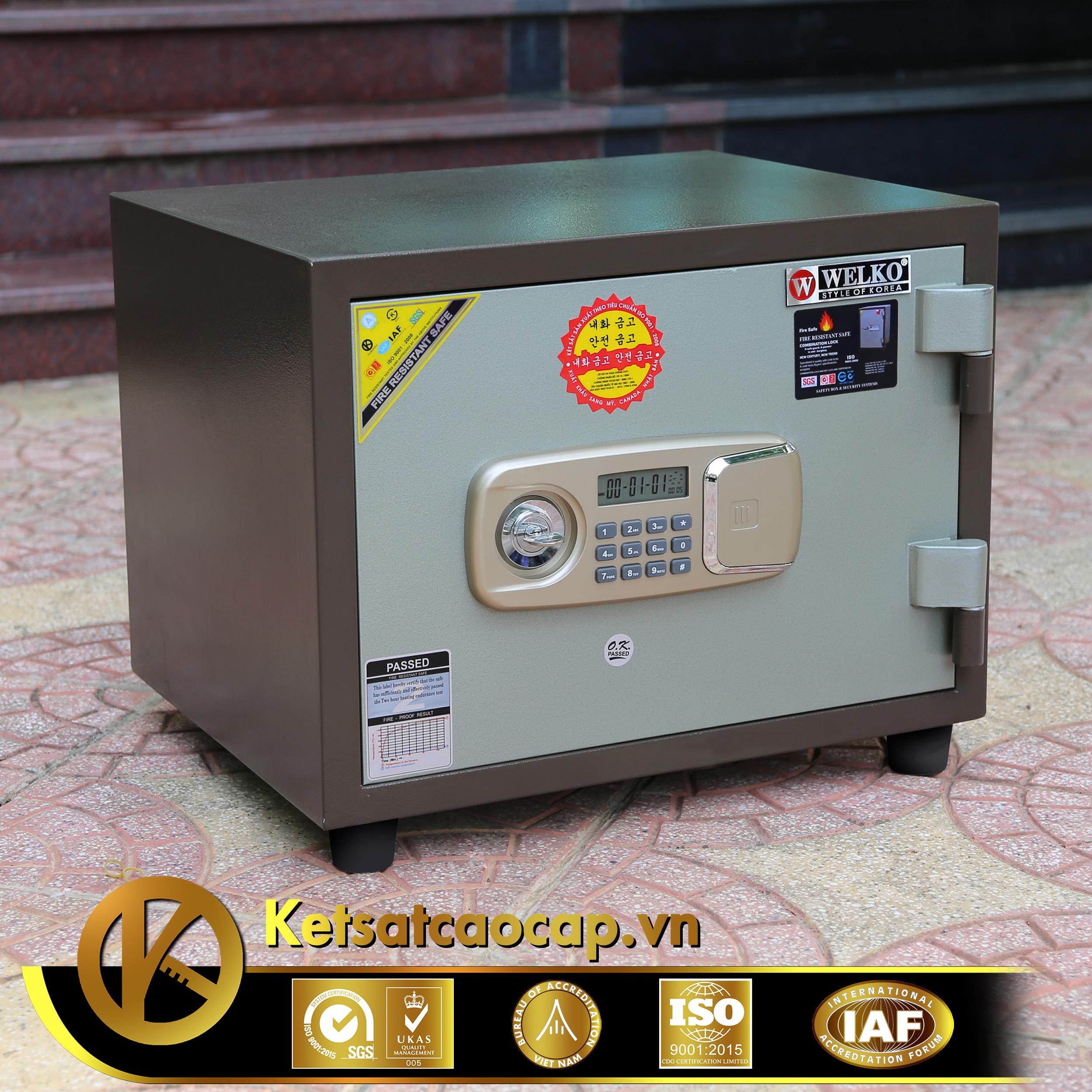 đặc điểm sản phẩm Két sắt văn phòng KS80N Brown-Series E Vietnam