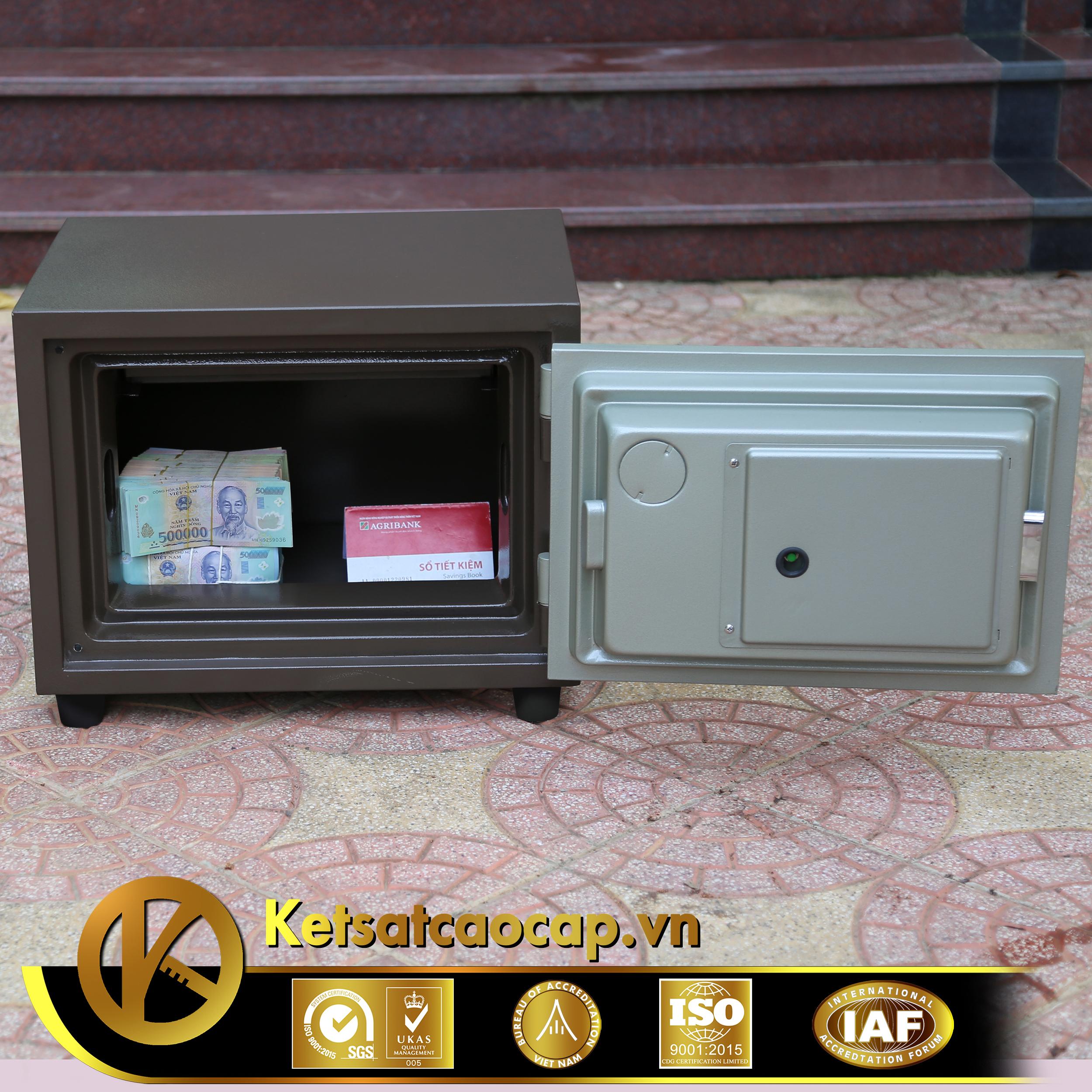 đặc điểm sản phẩm Két sắt văn phòng KS80N Brown - Series E Vietnam