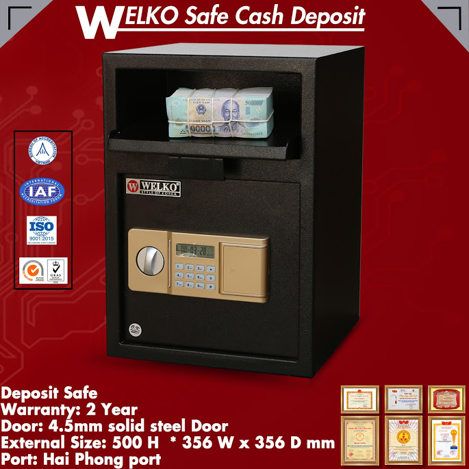 Hot sale cash deposit safe