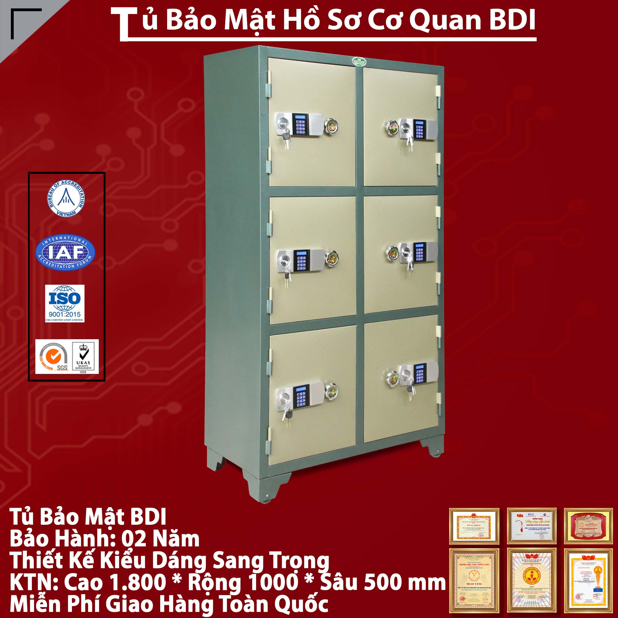 Tu Bao Mat 6 Canh Hien Dai Cao Cap