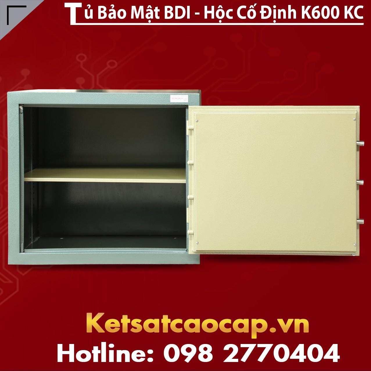Tủ Bảo Mật Ngân Hàng Steel Security Cabinet BDI NH0 - KC