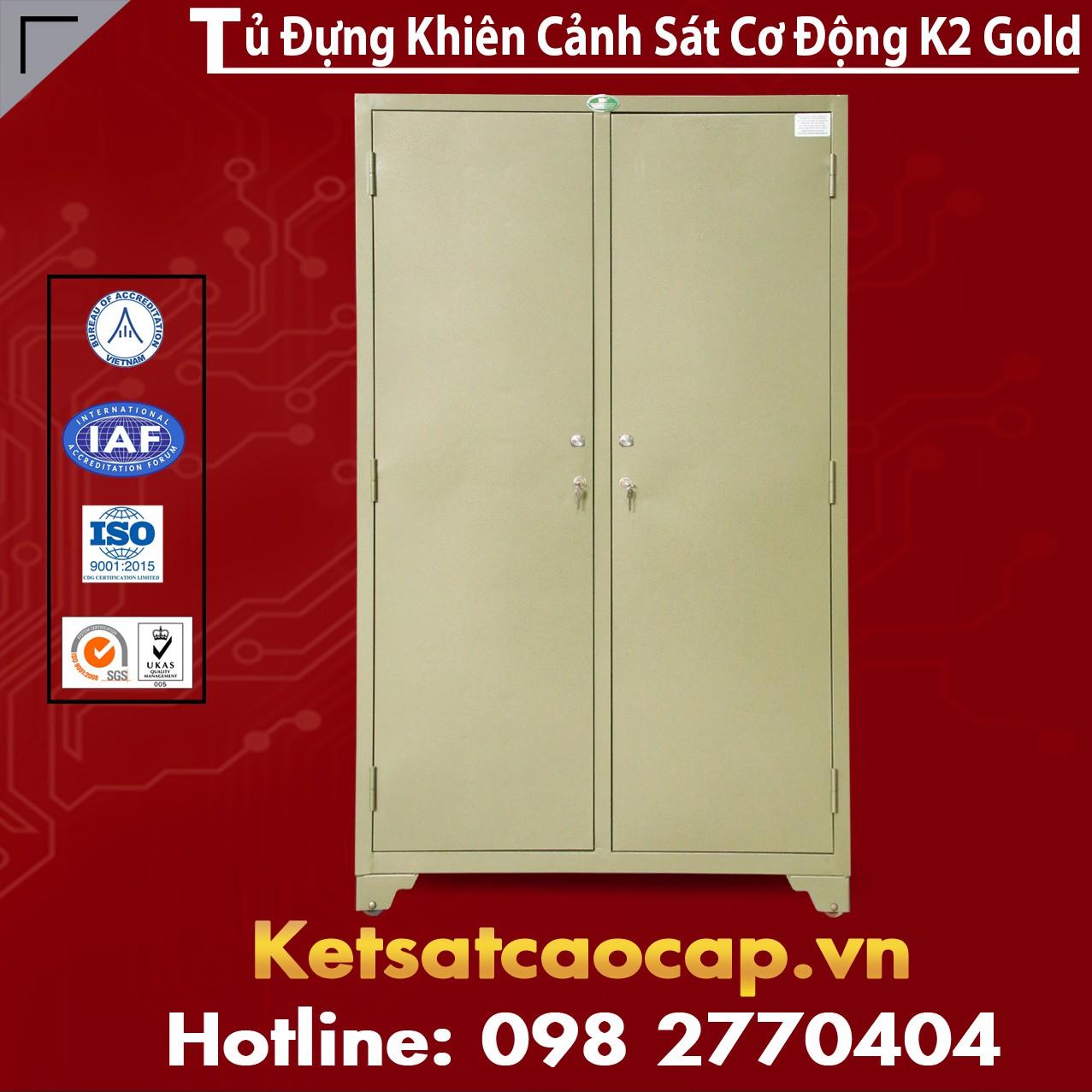 Tủ Đựng Khiên Cảnh Sát Cơ Động K2 Gold