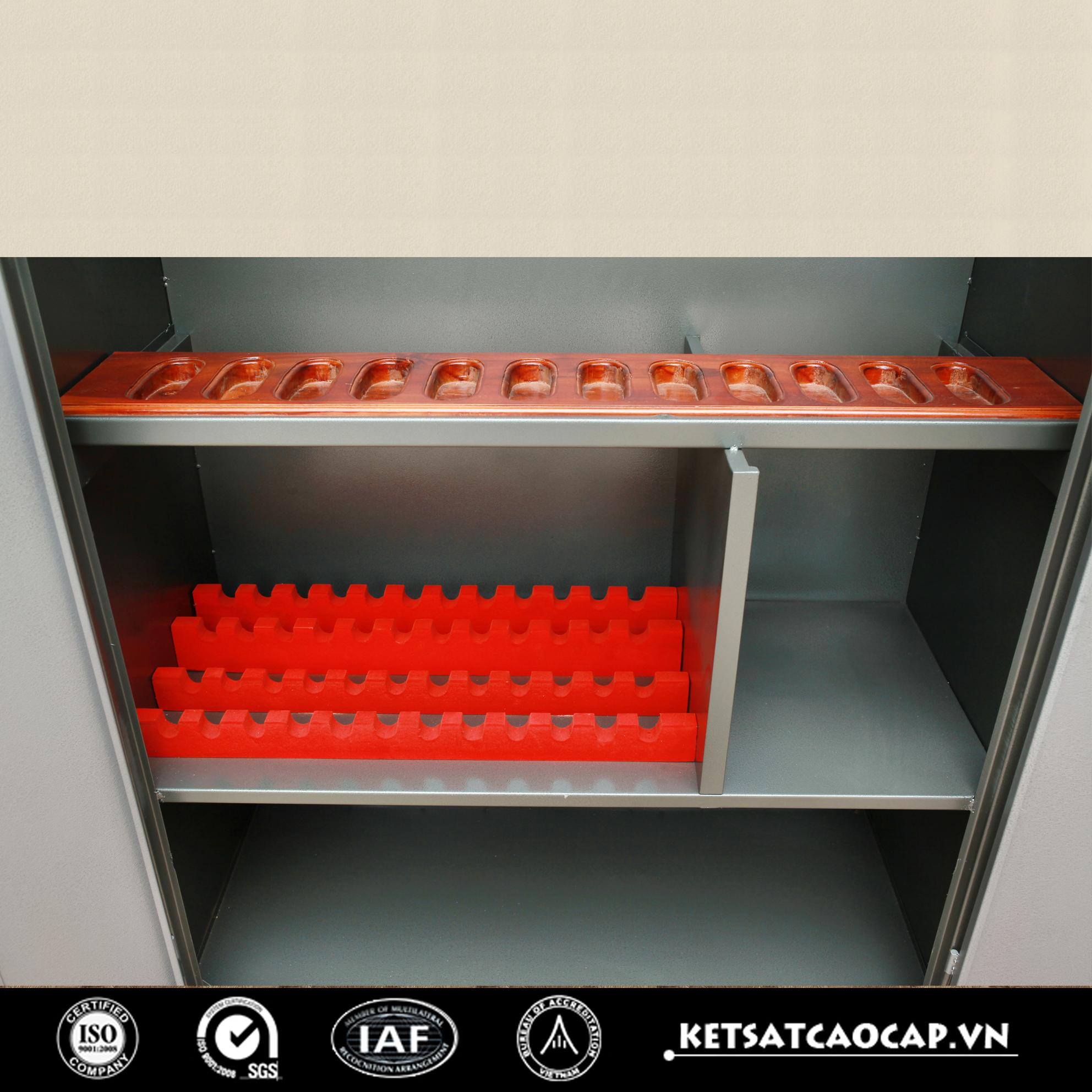 đặc điểm sản phẩm Tủ Đựng Súng 2 Cánh Cao Cấp