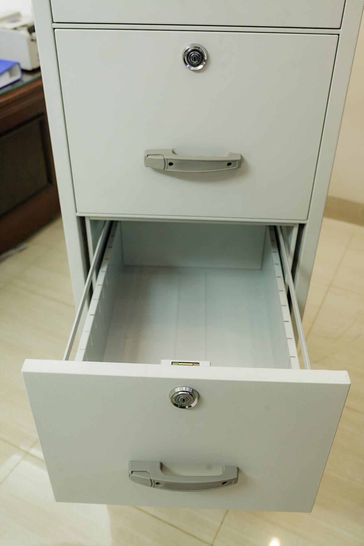 hình ảnh sản phẩm Tủ sắt chống cháy 3 ngăn